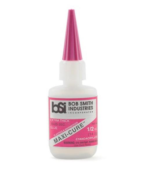 BSI Maxi-Cure Extra Thick Super Glue CA 1/2oz