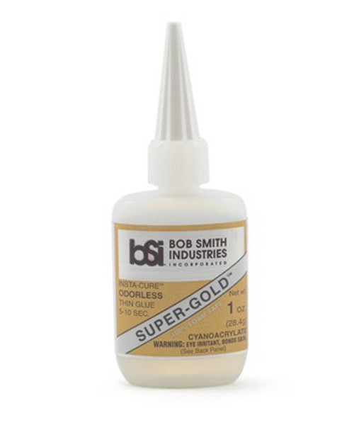BSI Super-Gold Odourless Foam Safe Thin CA 1oz