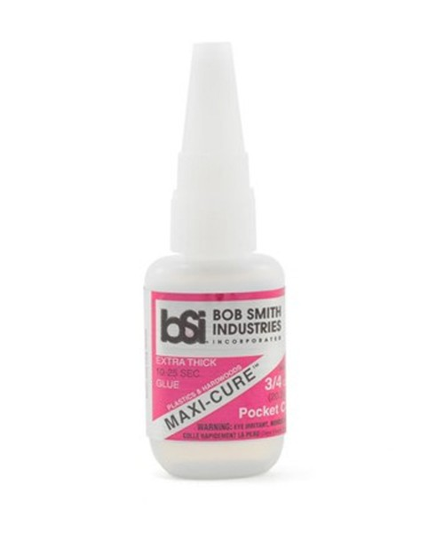 BSI Maxi-Cure Extra Thick Super Glue Pocket CA 3/4oz
