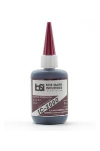 BSI IC-2000 Black Rubber Toughened CA 1oz